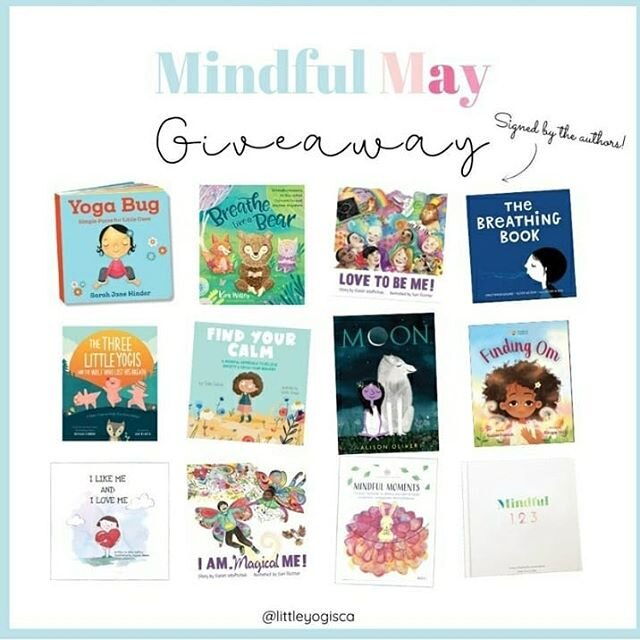 We are SO excited to have the perfect GIVEAWAY for you in celebration of Mindful May!  One lucky winner will win 11 Mindful Books signed by the authors themselves and 1 set of Mindful Moments cards from @bloomkindfully!  To enter: Like this post & comment which of these books you can't wait to read first Go to @mindfulgiveaways4yogis and follow the directions on there  And that's it! You've entered!  BONUS Entries: Share this post & tag @mindfulgiveaways4yogis Tag as many friends as you'd like (1 friend = 1 entry)Giveaway closes on May 13 at 8:00PM EST. Winner will be selected within 48 hours and contacted through DM. You must be following all accounts to be eligible to win. Must be 18 years or older.  This promotion is in no way sponsored, endorsed or administered by Instagram.  Good luck!  #teachergiveaways #teachergiveaway #teachersofig #instagramteachers #mindfulnessforkids #kidsyoga #kidsyogateacher #kidsyogabooks #mindfulmoments #mindfulbooks #kidlit #kidlitgiveaway #contest